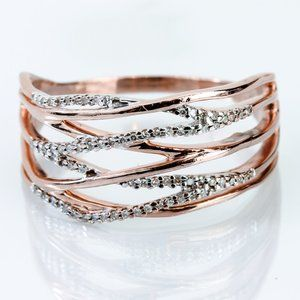 10kt Rose Gold Ring